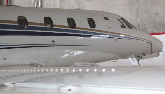 Foto - Aeronave Cessna Aircraft Citation XLS, 2005, Branca - [3]