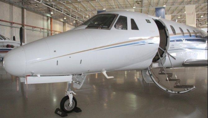 Foto - Aeronave Cessna Aircraft Citation XLS, 2005, Branca - [4]
