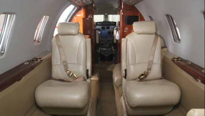 Foto - Aeronave Cessna Aircraft Citation XLS, 2005, Branca - [14]