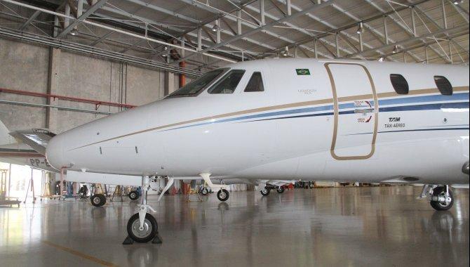 Foto - Aeronave Cessna Aircraft Citation XLS, 2005, Branca - [1]