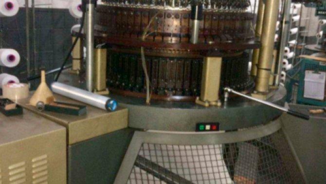 Foto - Máquinas Circular para Malhas Monofrontura MAYER/ IHLG III - [2]