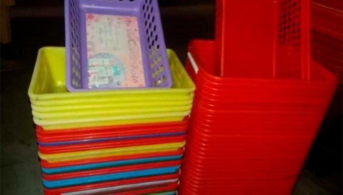 Foto - 1140 Cestas de Compras Pequenas sem Alças - [1]