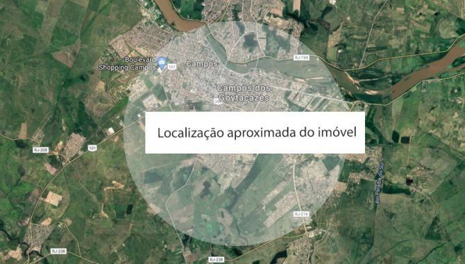 Foto - Imóvel Rural 58.650 m² - Campos Goytacazes - RJ - [1]