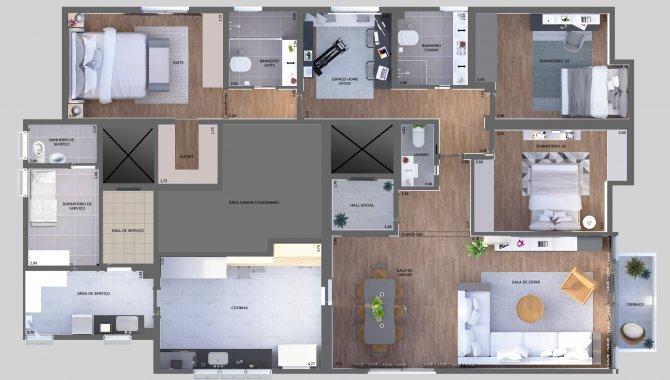 Foto - Apartamento 166 m² (01 vaga) - Indianópolis - São Paulo - SP - [11]