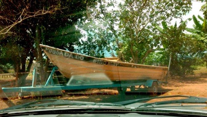 Foto - Carreta para Barco, Azul - [1]