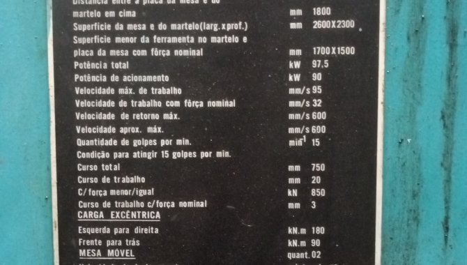 Foto - 01 Prensa Hidráulica (Lote 145) - [1]