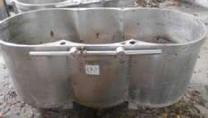 Foto - 37 Bacias para Amassadeiras Verticais, Aço Inox - [1]