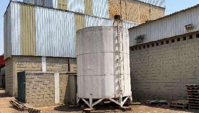 Foto - Reservatório de Água dos Hidrantes com Capacidade para 30.000 Litros - [1]