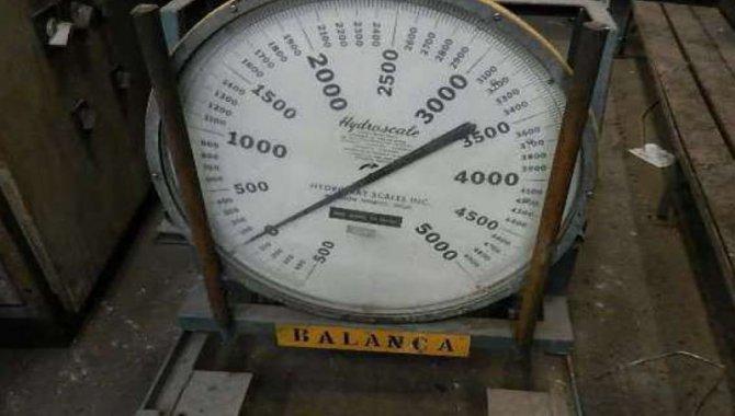 Foto - 01 Balança para Ponte Rolante marca Hydroscale Cap. 5.000 Kg - [1]