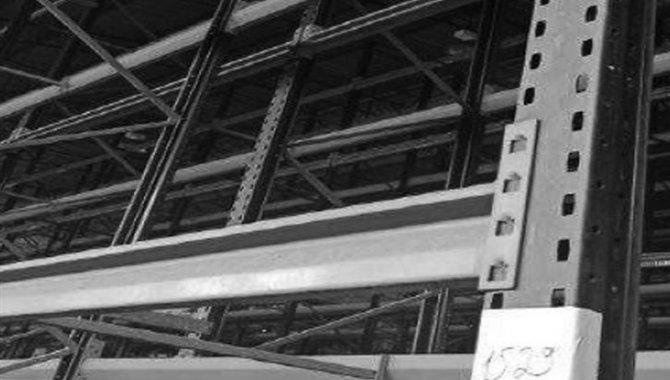 Foto - Estante Porta Pallets com 39 Prateleiras e 14 Colunas, 2008 (Lote 13) - [1]
