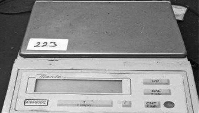 Foto - Balança Analítica Marte/ Mod. AS5500C, 2002 - [1]