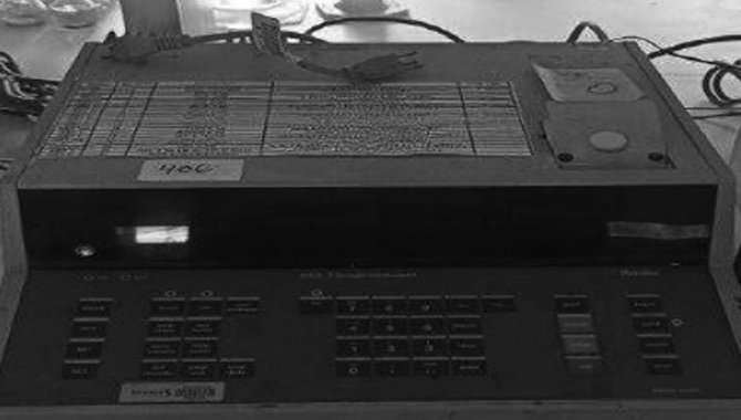 Foto - Titroprocessador Metrohm/ Mod. 682 Titroprocessor, 1995 - [1]