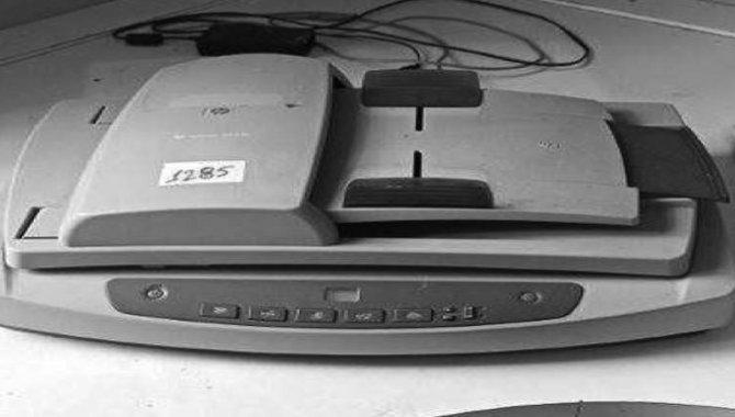 Foto - Scanner HP/ Mod. Scanjet 5550 C, 2005 - [1]