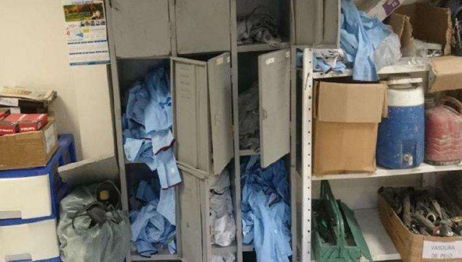 Foto - 01 Armário de Vestiário 12 Portas - [1]