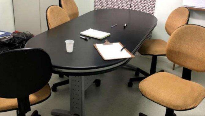 Foto - 02 Mesas de Reunião Preta - [1]