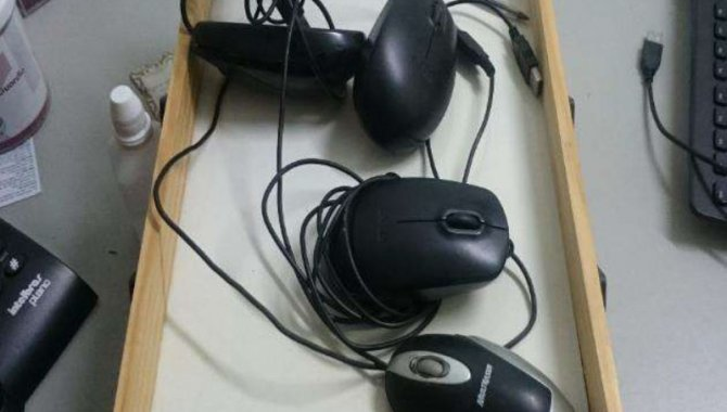 Foto - 05 Mouses Diversos (Lote 166) - [1]