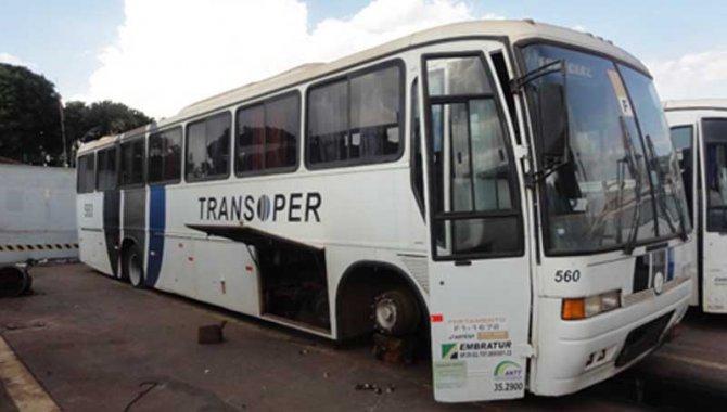 Foto - Ônibus Volvo/ B10M, Branco, 1997 - [1]