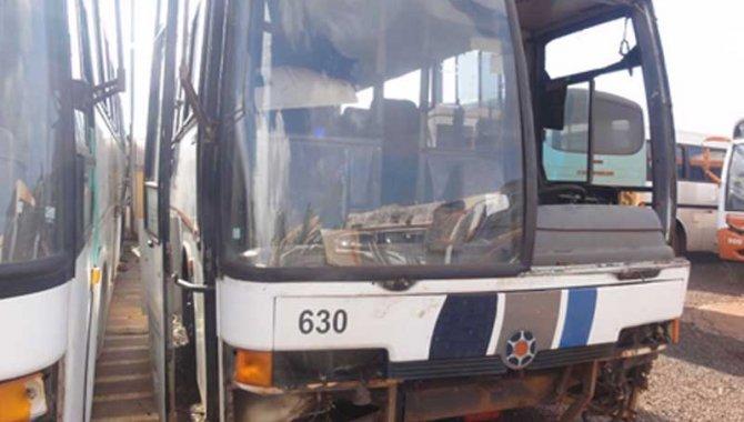 Foto - Ônibus MB/ Marcopolo Viaggio GV-1000, Branco, 1996 - [1]