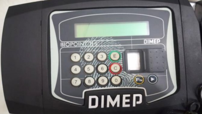 Foto - Máquina de Ponto Dimep Biopoint - [1]