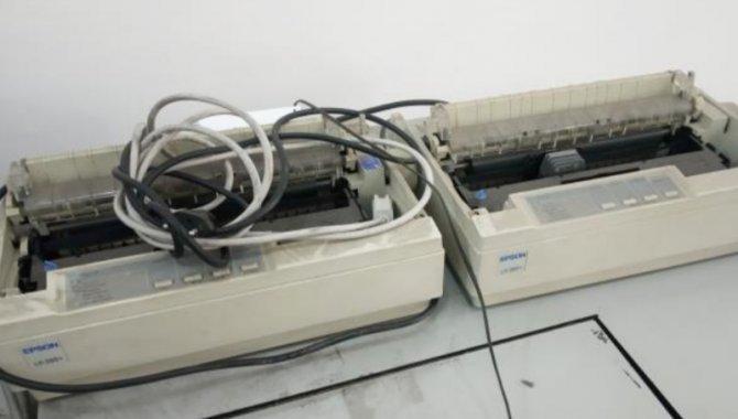 Foto - 02 Impressoras Matriciais Epson LX 300 - [1]