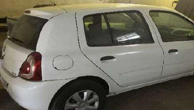 Foto - Carro Renault/ Clio, Branco, 2013/2014 - [3]
