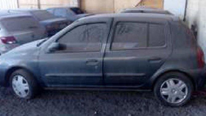 Foto - Direitos sobre Carro Renault/ Clio, Cinza, 2011/2012 - [1]