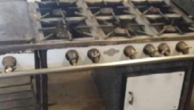 Foto - 01 Fogão Cozinha Profissional de 6 bocas e Chapa Reformado - [1]