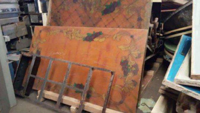 Foto - 01 Vitral em Resina Transparente no Teto da Sala de Banho - [1]