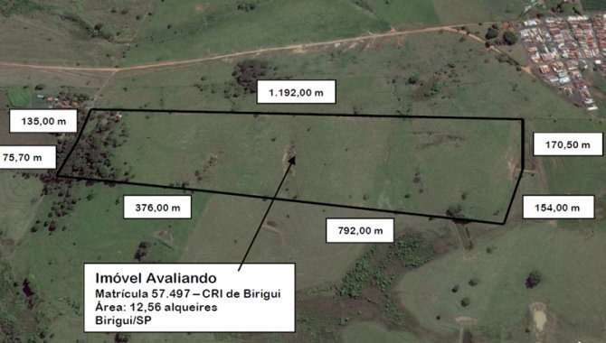 Foto - Parte Ideal sobre Imóvel Rural 12 alq. - Tupi - Birigui - SP - [2]