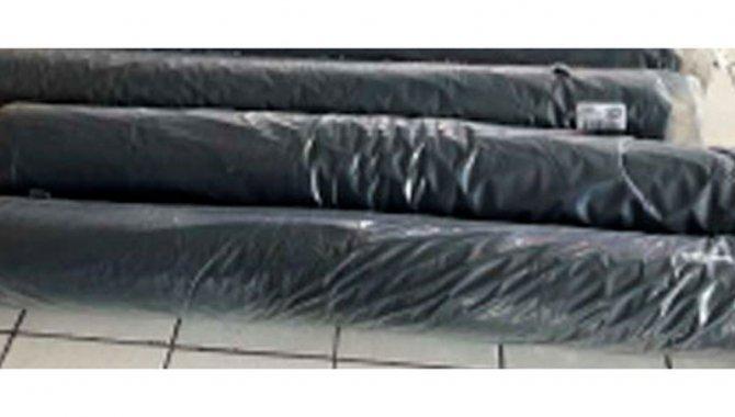 Foto - 349 Rolos de Linha de Costura e 01 Rolo Fechado de Tecido Preto - [2]