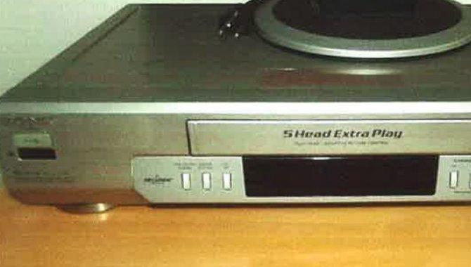 Foto - 01 Videocassete Sony - [1]