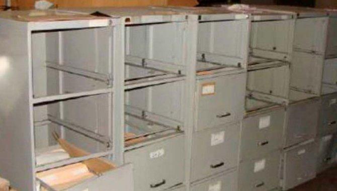 Foto - 11 Arquivos de Aço tipo Fichário - [1]